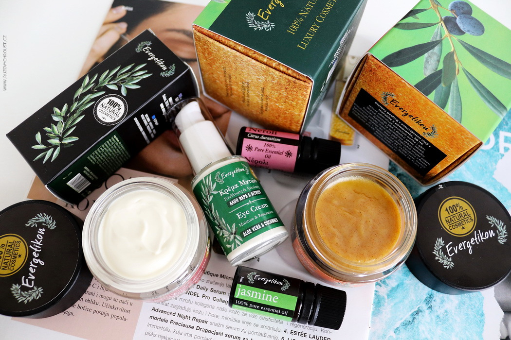 Blogerka BEBE testuje průřez kosmetikou Evergetikon