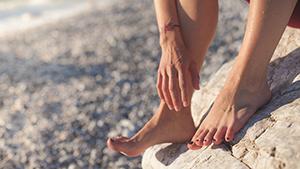 Domácí wellness pro unavené nohy