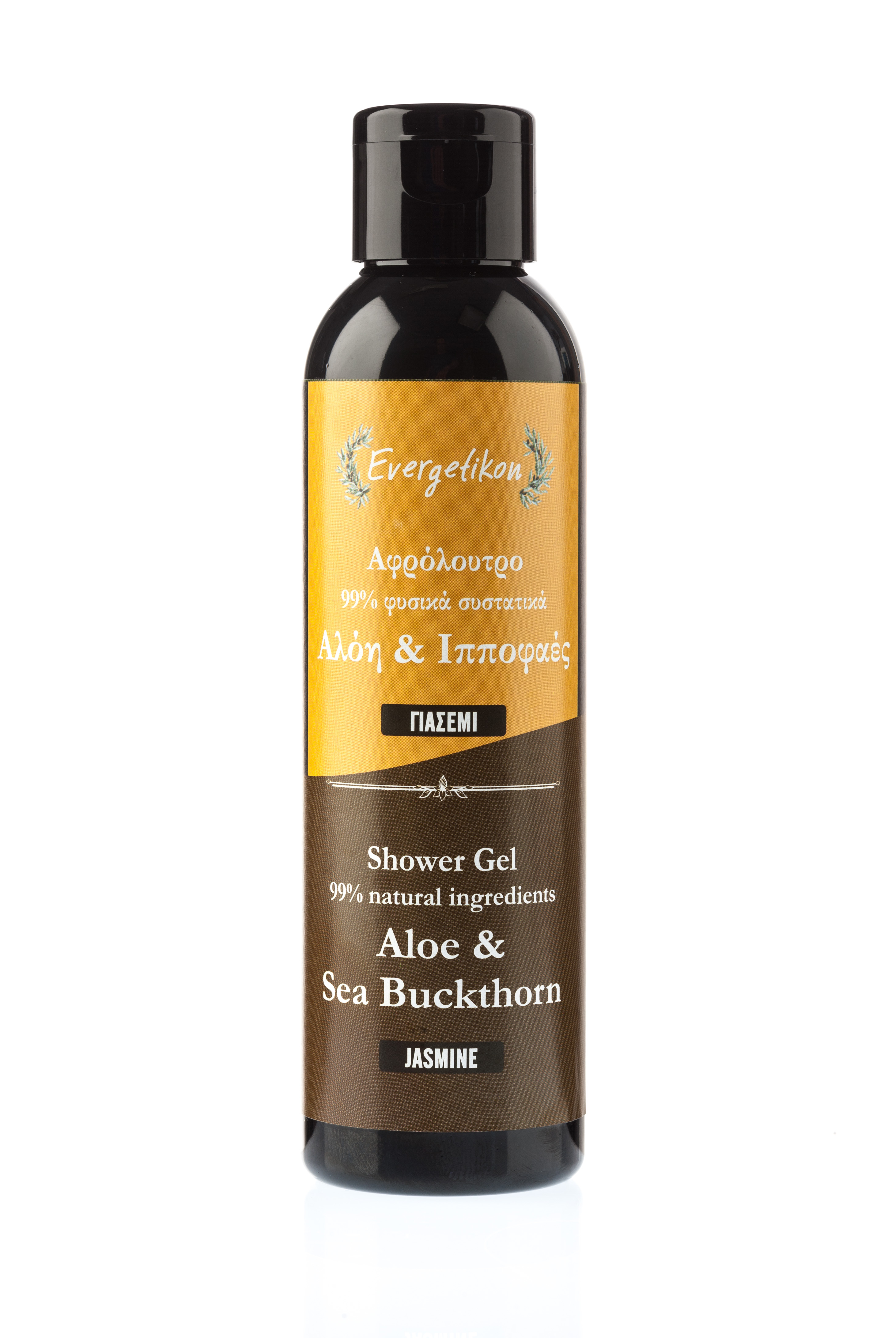 Evergetikon Přírodní sprchový gel s Aloe a Jasmínem