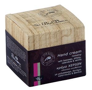 Krém na ruce s bambuckým máslem, třezalkovým a olivovým olejem a měsíčkem