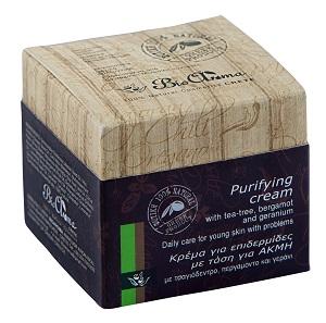 BioAroma Krém proti akné s tea tree, bergamotem a geránií