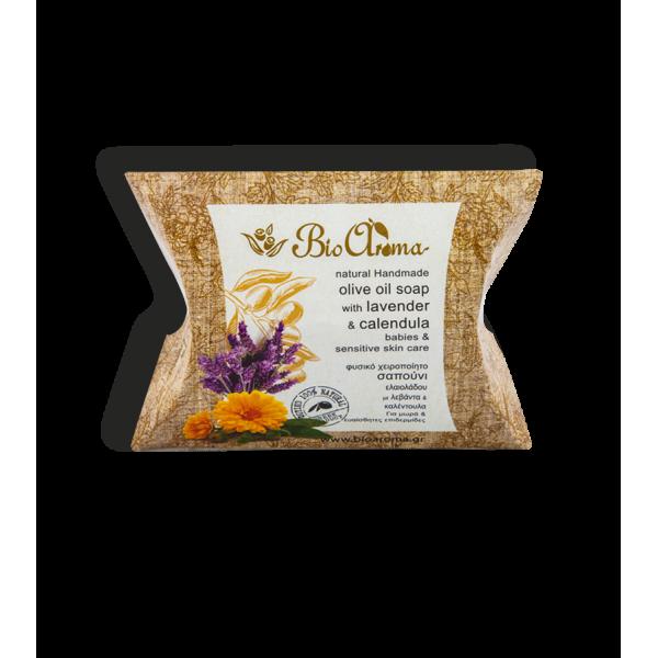 Přírodní mýdlo s olivovým olejem pro miminka a citlivou pleť
