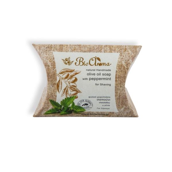 Přírodní mýdlo s olivovým olejem a mátou